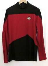 Star Trek TNG Red Uniform Suit Cosplay Costume FREE SHIPPING