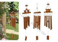 67cm Hanging Bamboo Wind Chime Decorative Outdoor Ornament Garden Home Mobile