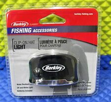 Berkley Classics Fishing Accessories Clip-on Hat Light w/Battery BTCOHL2 1292850