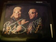 Nasty Boys Brian Knobs and Jerry Saggs   Autographed 8x10  WWE WWF