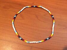 Surfer Seed Bead Anklet Bracelet A172