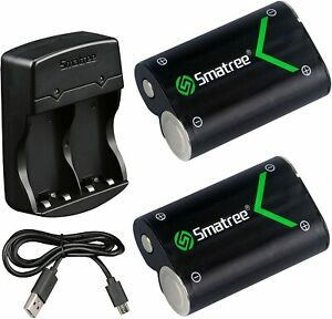 Smatree Rechargeable Battery Compatible for Xbox One, One X, One S, One Elite
