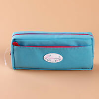 Cute School Pencil Case Pen Bag Large Capacity Canvas Gift Stationery Supplies G