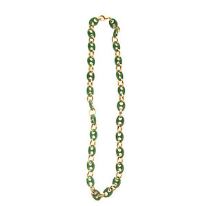 GOGO PHILIP Chain Necklace Two Tone Lobster Clasp Closure HANDMADE in Italy