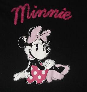 Sleep T Shirt Women's MINNIE MOUSE Disney Medium (8-10) Cotton Blend Sleepware