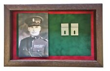Large RUC Medal Display Case With Photograph For 3 - 4 Medals