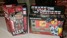 HASBRO Transformers War For Cybertron Soundblaster Black Siege Retro Blaster lot
