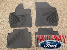 05 06 07 08 09 10 Escape OEM Genuine Ford Rubber All Weather Floor Mat Set 4-pc