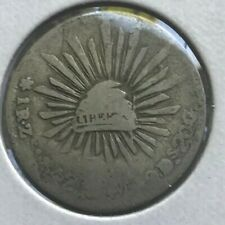 1842 Zs OM Mexico 1 One Real