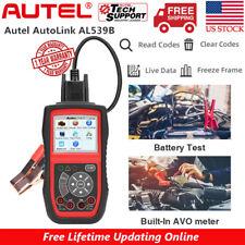 Autel AL539B OBD2 Auto Scanner Code Reader Battery Circuit Test Diagnostic Tool
