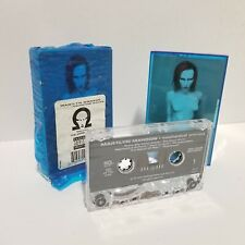 Marilyn Manson Mechanical Animals Cassette Blue Case 1998 Hype Sticker Original