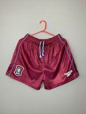 Aston Villa 1990's Vintage Football Soccer Reebok Rare Shorts size S
