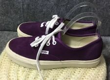 Vans Low Top Purple Skateboard Shoes Men's Sz 6 Women Sz 7.5 Unisex