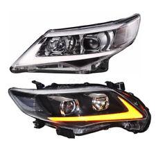 Set(2) LED Projector headlamp Headlights For 2011 2012 2013 Toyota Corolla