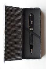 Edler Dreh- Kugelschreiber, NEU Raiffeisenbank mit Geschenketui, blau, UMA