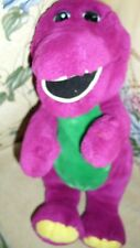 "13"" Vintage Plush Barney Purple Dinosaur Stuffed Animal Lyons 1992 Soft"