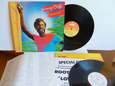 """Jimmy Cliff - Special CBS 85878 UK LP + Free Roots Radical 12"""" Dub disc 1982"""