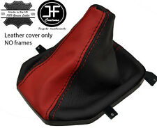 BLACK DARK RED REAL LEATHER MANUAL GEAR BOOT FITS HOLDEN VE SS HSV GTS CLUBSPORT