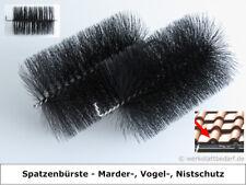 50x Spatzenbürste Ø 9cm,L 16 cm Marderschutz Nistschutz Vogelschutz Dachrinne