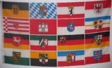 3x5 Germany Flag with 16 German State Flags Event Banner Deutschland Pennant New