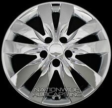 "Set of 4 fits 2010-13 KIA FORTE 17"" CHROME Wheel Skins Hub Caps Full Rim Covers"