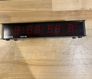 HORITA MTD-100 TIMECODE TIME/DATE LED DISPLAY