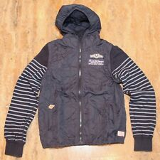 SCOTCH & SODA Hooded Jacket with Removable Sleeves Vest hoodie Small S mens