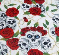 Girls skull rose thorn dress age 2-3, 4-5 & 6-7