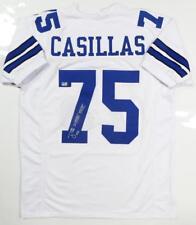 Tony Casillas Autographed White Pro Style Jersey w/ SB Insc- Jersey Source Auth