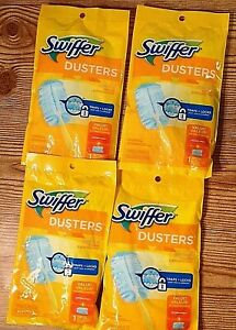 Lot of 4 Swiffer Dusting Kit Duster with Handle Starter set