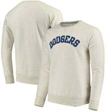 Los Angeles Dodgers Terry Pullover Crewneck Sweatshirt - Cream 3XL by Fanatics