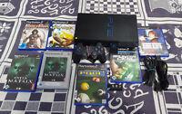 Playstation 2 komplett mit 3 Spiele + Original (Controller + Speicherkarte) + TV