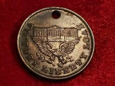 1919 Victory Liberty Us Treasury Medal from Captured German Cannon