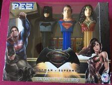 DC Comics: Batman V Superman: Dawn of Justice 3 Piece PEZ Set