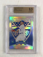 ALEX VERDUGO 2018 Panini Crusade HOLO SILVER SP RC! BGS GEM MINT 9.5! DODGERS!