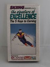 Ski VHS Signature Excellence 5 Keys To Carving Vintage 1992 Merriam Byrne Oakes