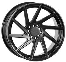 F1R F29 18X9.5 +38 5X120 BLACK WHEELS Fit BMW E36 Z3 E85 E86 E89 Z4 Stance
