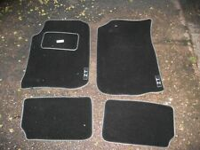 MG ZT 2001-2007 Fully Tailored Black Carpet Car Mats