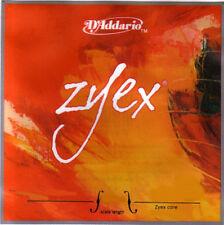 D'Addario ZYEX Double Bass Strings- 3/4 size  - medium