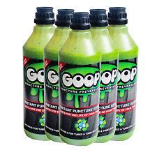 Goop Puncture Preventative 5 Litres / 5 x 1 Litre Bottles Bundle