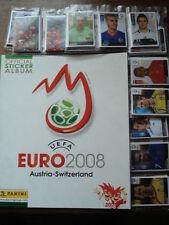 PANINI EMPTY ALBUM + ALL 535 STICKERS EURO FOOTBALL 2008