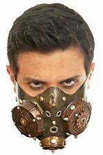 Steampunk Muzzle Gas Mask Latex Apocalypse Adult Halloween Costume Accessory