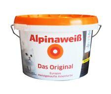 Alpina Alpinaweiß 1 Liter Wandfarbe weiß matt Innenfarbe Wandweiß