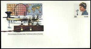 Australia Amateur Radio, Unused Pre-Stamped Cover #95 #C58065
