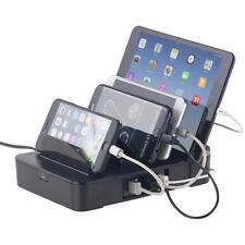 revolt 6-fach-Ladestation mit 5-Port-USB-Netzteil, Smart Power, 40 Watt, 8 A