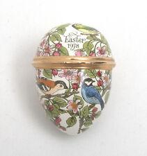 Halcyon Days Bilston & Battersea Enamels 1978 Easter Egg