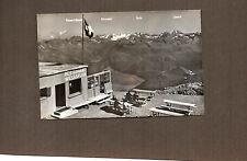 Switzerland Restaurant atWeissfluh Gipfel 2846m Real photo 1950's  unposted a111