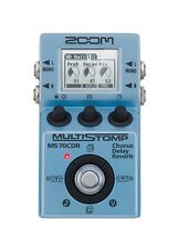 Zoom MS-70CDR Multi-Effects Guitar Effects Pedal NEW w/ FREE PICK!