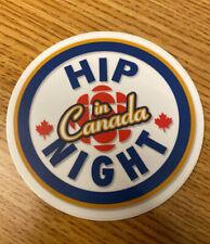 Tragically Hip Hockey Night In Canada Printed Vinyl Decal Sticker Downie 4in