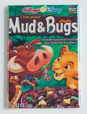Chocolate Mud & Bugs FRIDGE MAGNET (2 x 3 inches) cereal box lion king simba